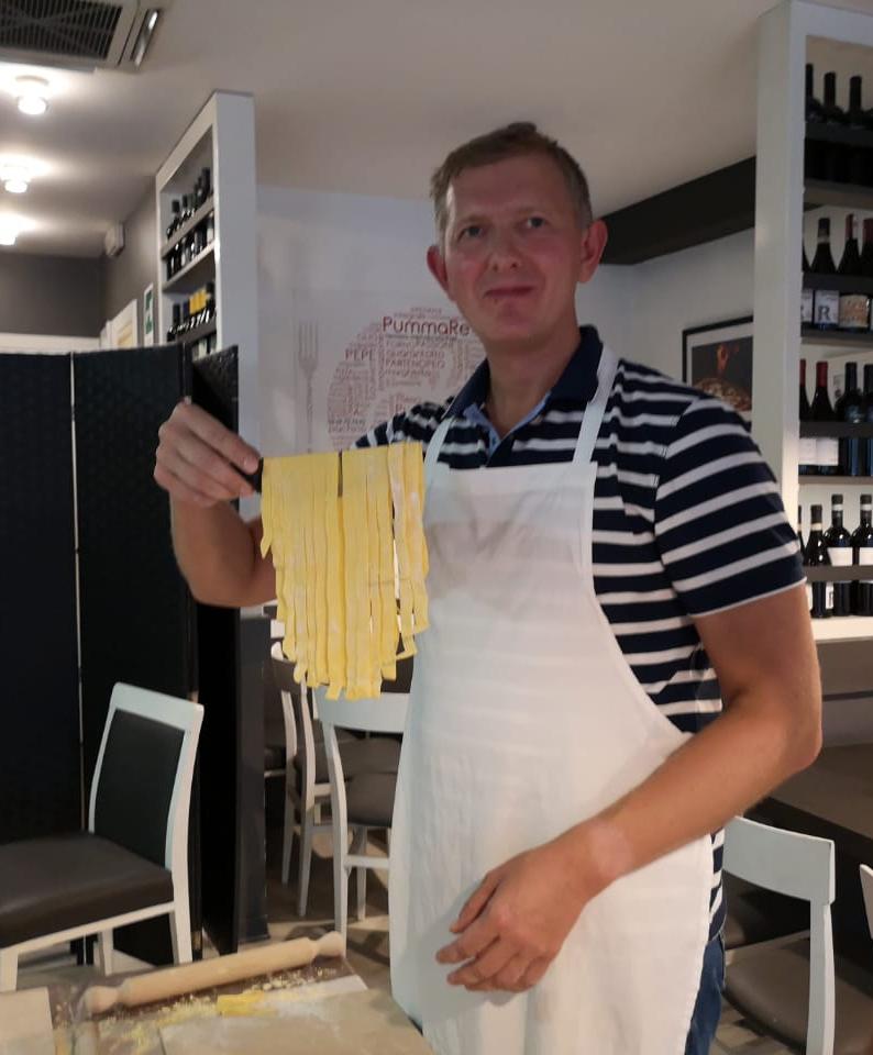 Мастер-класс по пасте в Риме