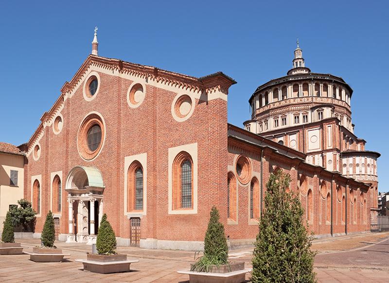 Санта-Мария-делле-Грацие — главная церковь доминиканского монастыря