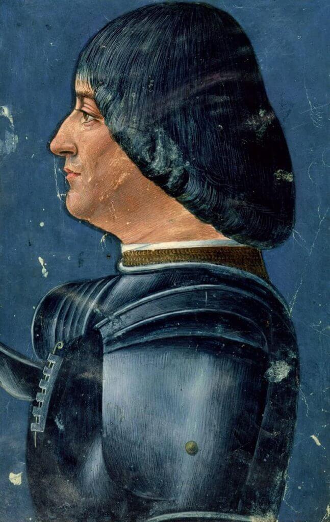 Портрет Лодовико Сфорца. Автор Джованни Амброджо де Предис, один из леонардесков
