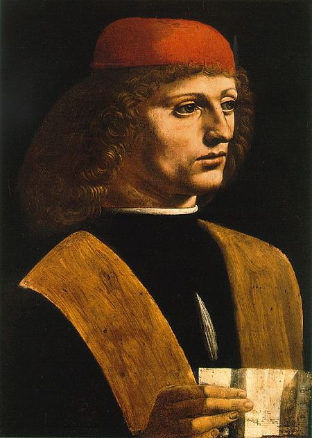 Портрет музыканта, 1485 г.