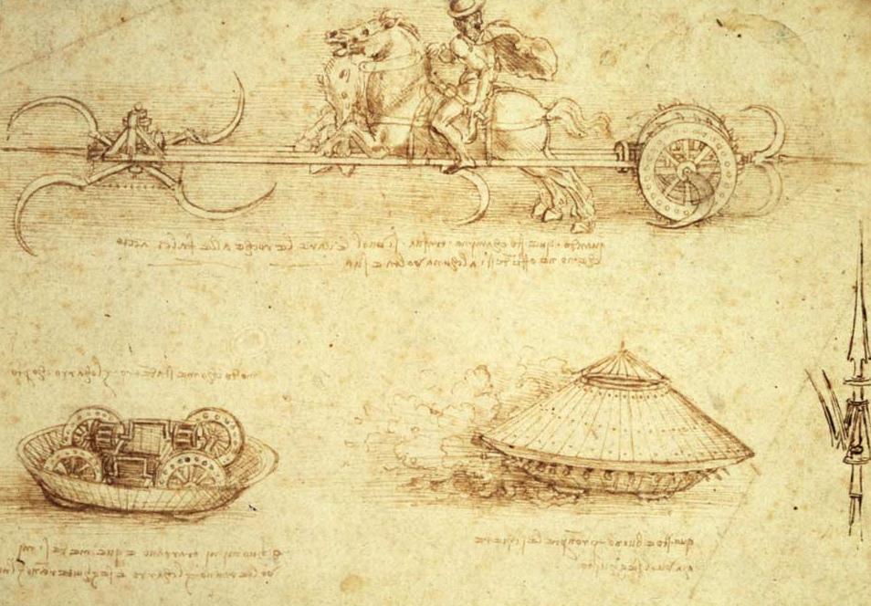 Рисунки машин