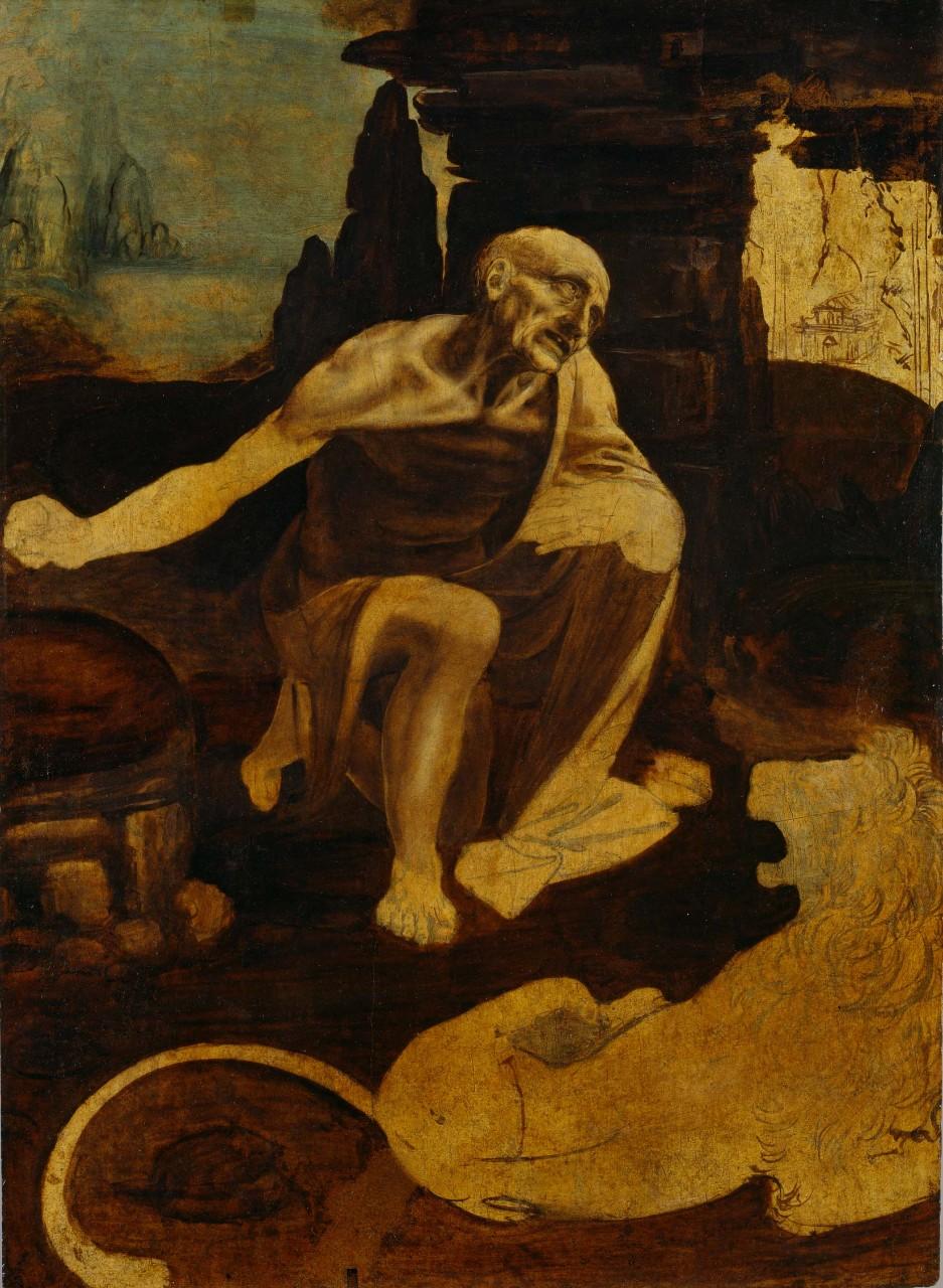 Святой Иероним, 1480-1482 гг.