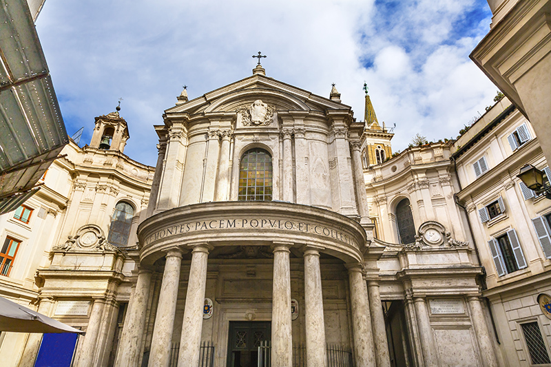 Церковь Санта-Мария-делла-Паче