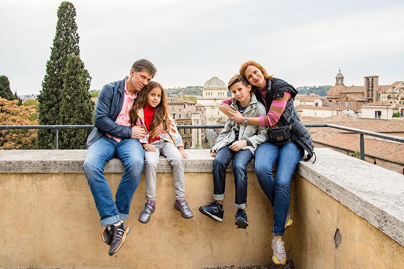 Рим с детьми