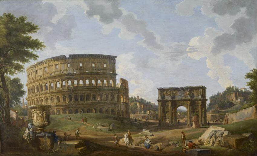 Колизей в Средние века