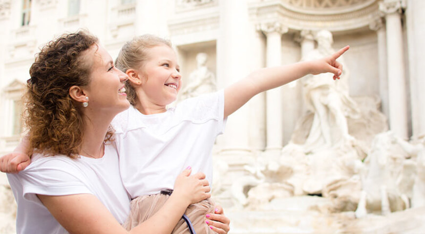 Рим с детей