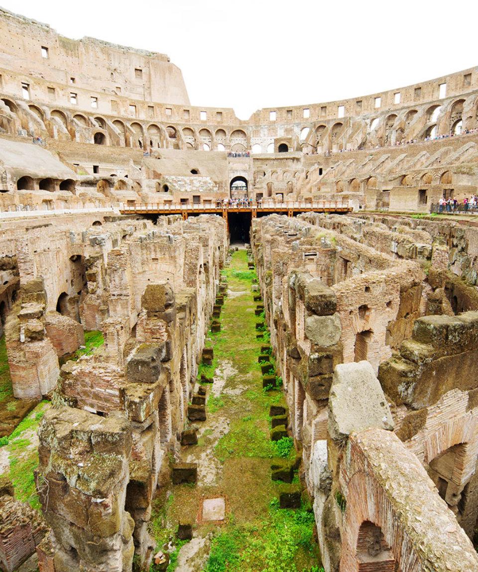 Тур по Колизею с посещением арены и подземных галерей