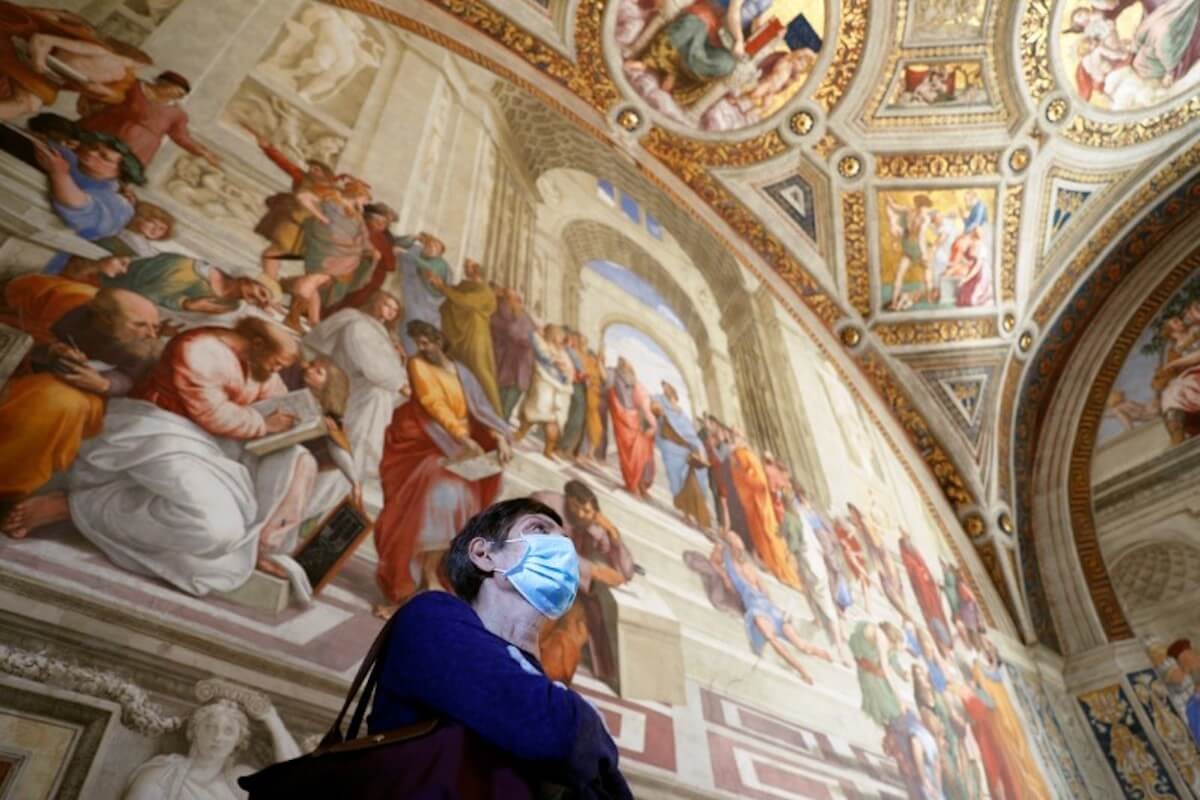 Музеи Ватикана в период коронавируса