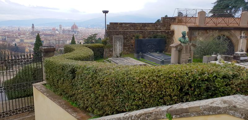 Вид с горы Сан-Миниато