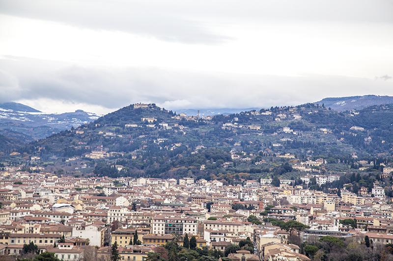 Вид с купола Санта-Мария-дель-Фьоре
