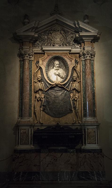 Гробница кардинала Одоардо Веккьярелли