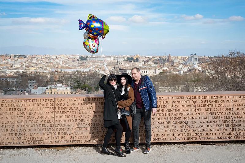 День рождения в Риме 4 март