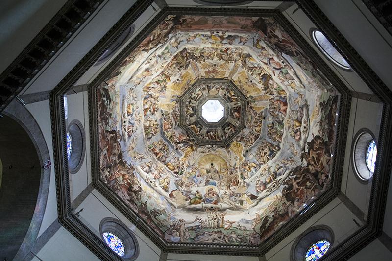 Купол собора Санта-Мария-дель-Фьоре изнутри