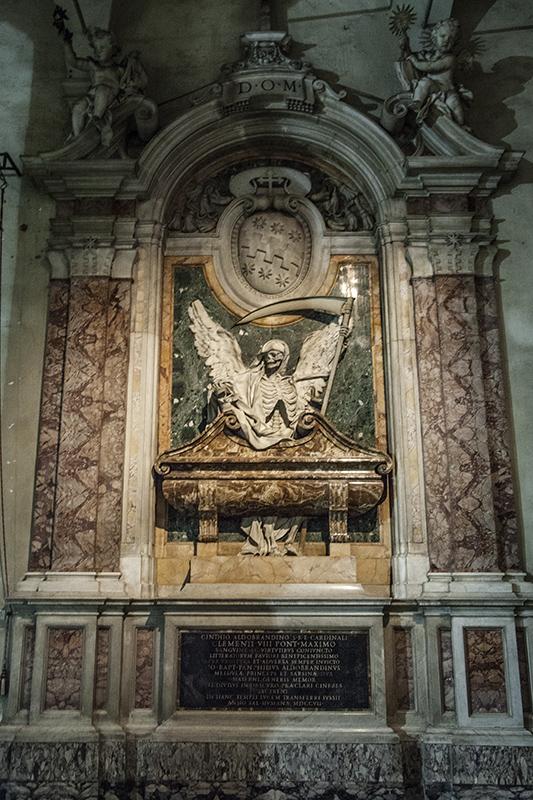 Гробница кардинала Альдобрандини