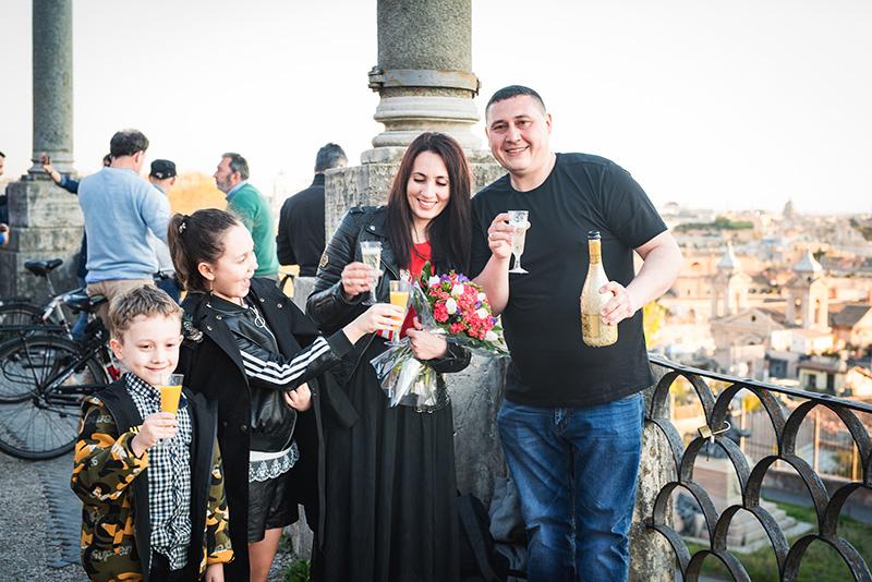 организация праздника-сюрприза в Риме
