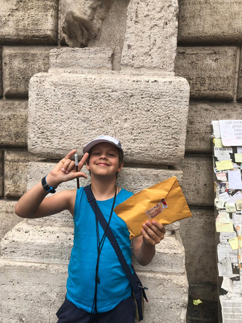 Детский квест в Риме