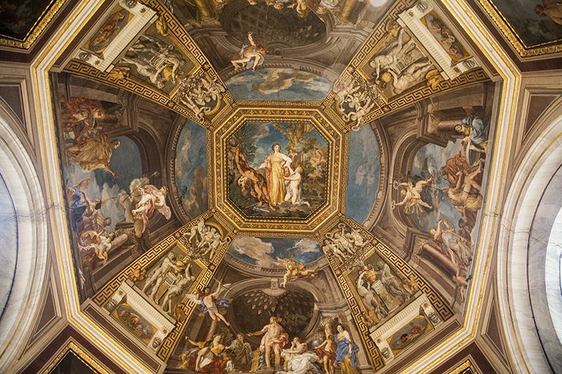 Зал Муз Ватикан