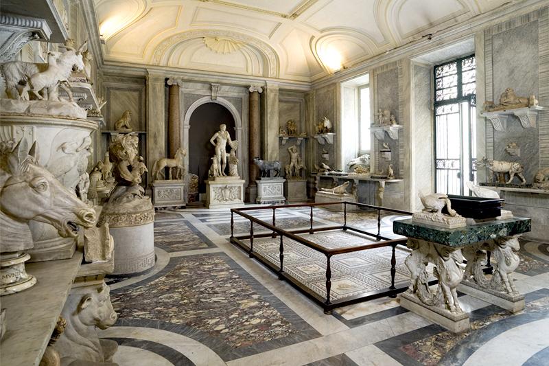 Зал животных Ватикан