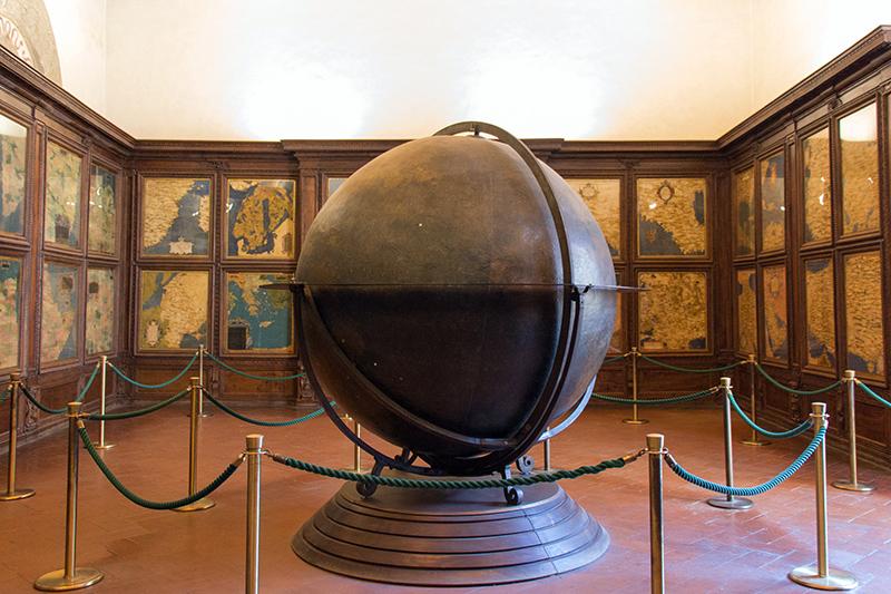 Зал карт палаццо Веккьо, Флоренция