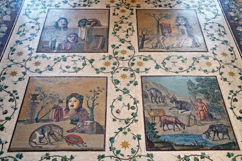 Мозаика с виллы Адриана, I в. до н.э.