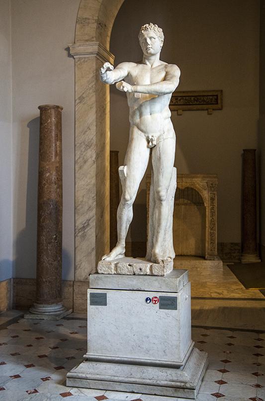 Римская копия статуи Лисиппа