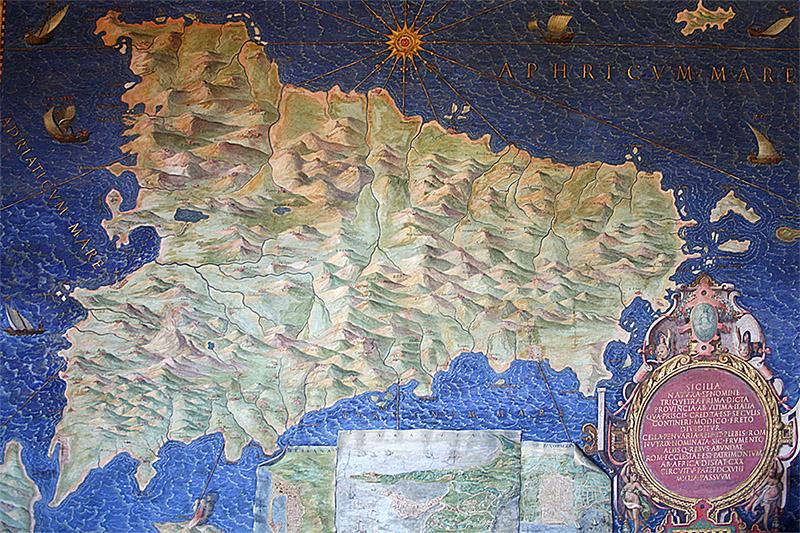 Сицилия Галерея Географических карт