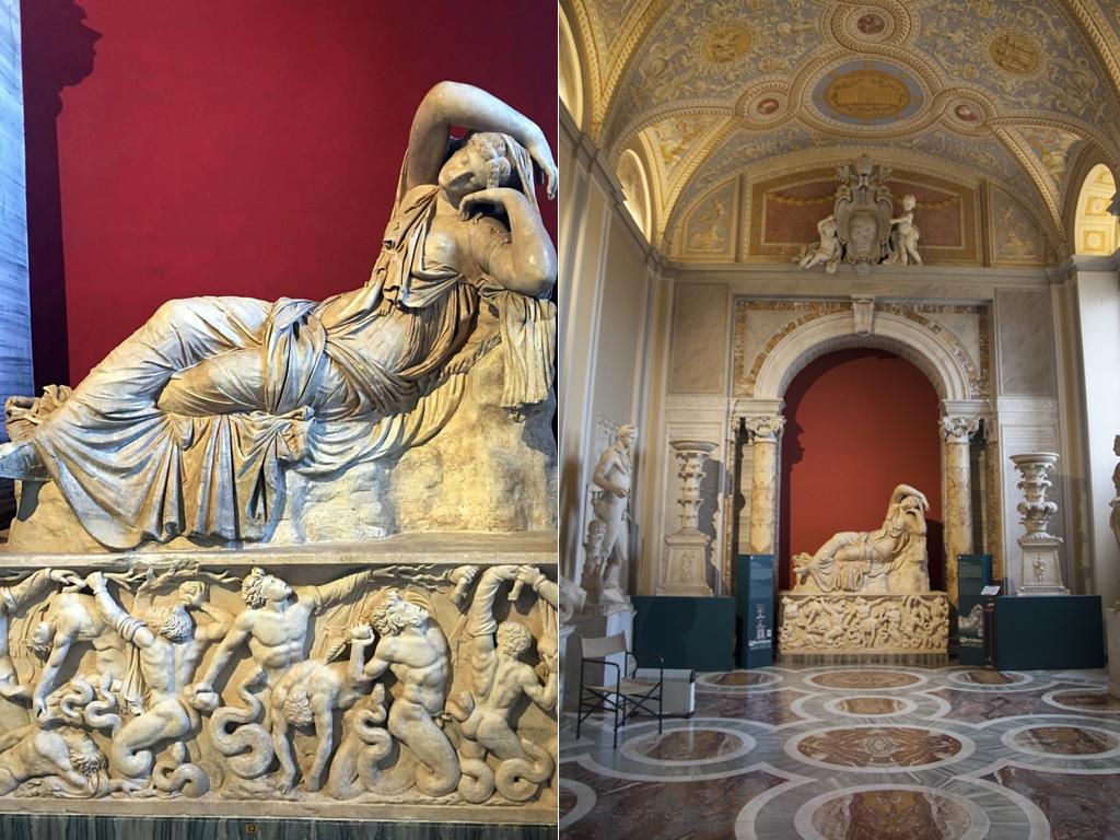 Спящая Ариадна музей Пио-Клементино