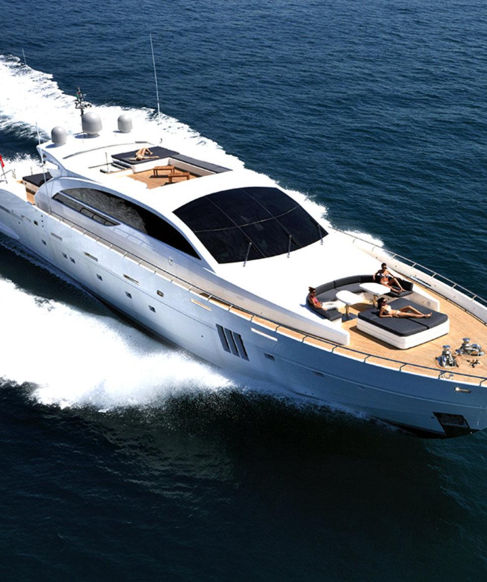 аренда яхты в Италии