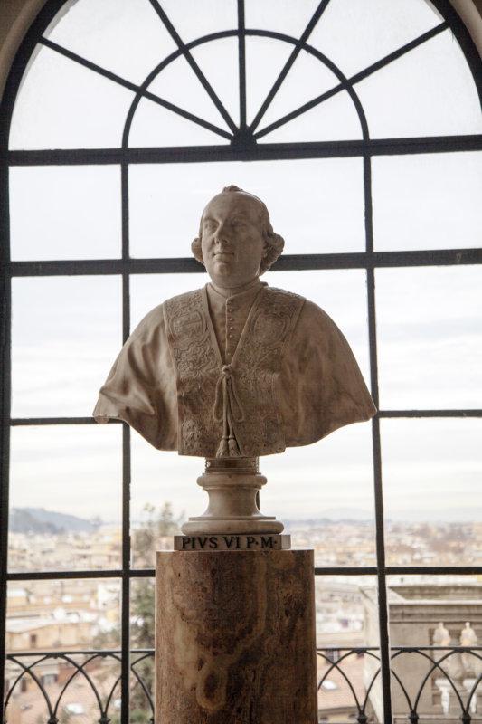 Бюст Папы Пия VI