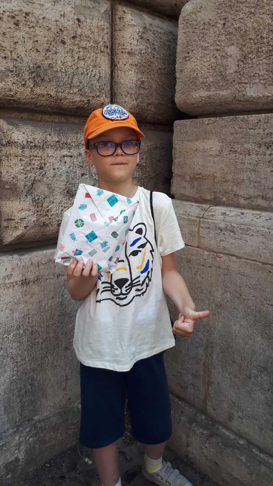 отзыв на детский квест в Риме Путешествие во времени