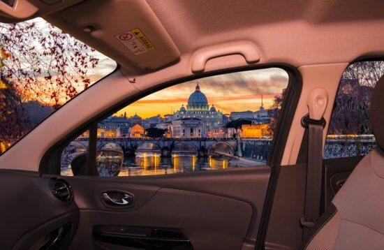 Обзорная экскурсия на автомобиле по Риму