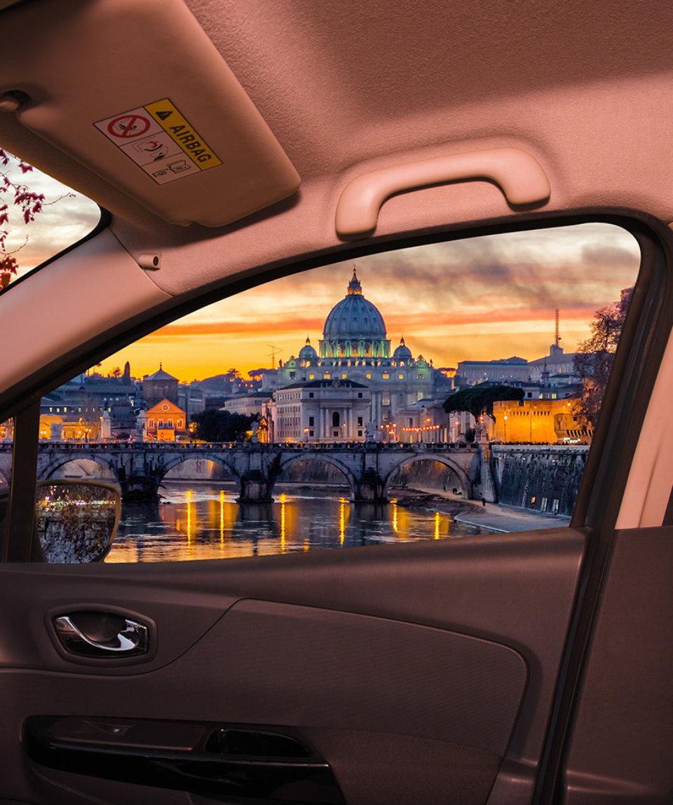 Обзорная экскурсия на автомобиле в Риме