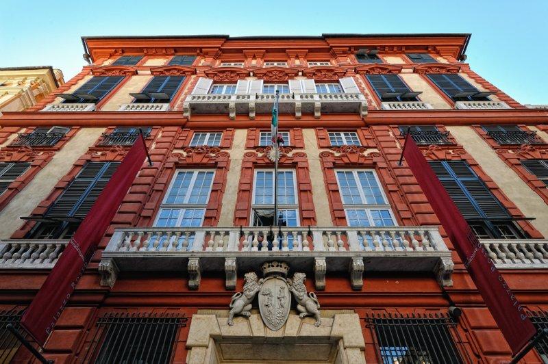 Palazzo Rosso что посмотреть в генуе