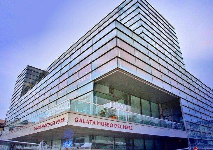 Galata Museo del Mare что посмотреть в генуе