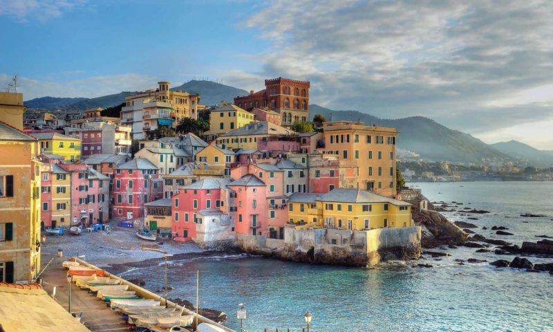 Boccadasse Что посмотреть в Генуе