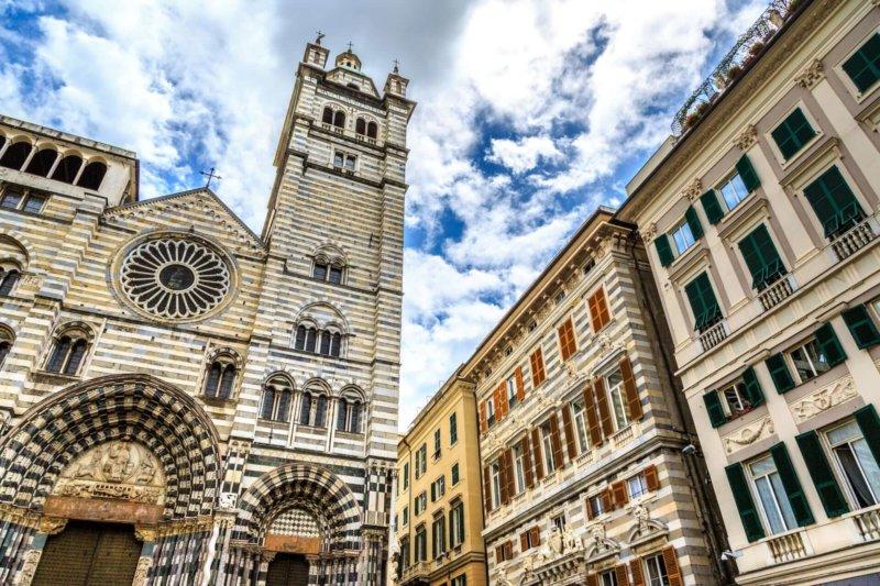 Cattedrale di San Lorenzo что посмотреть в генуе