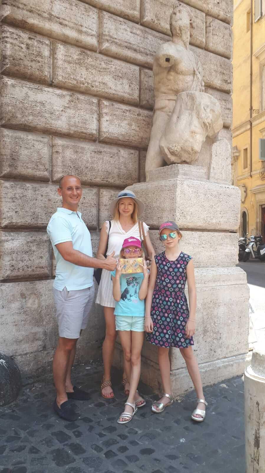 Отзыв на экскурсию-квест в Риме 26.06.2019
