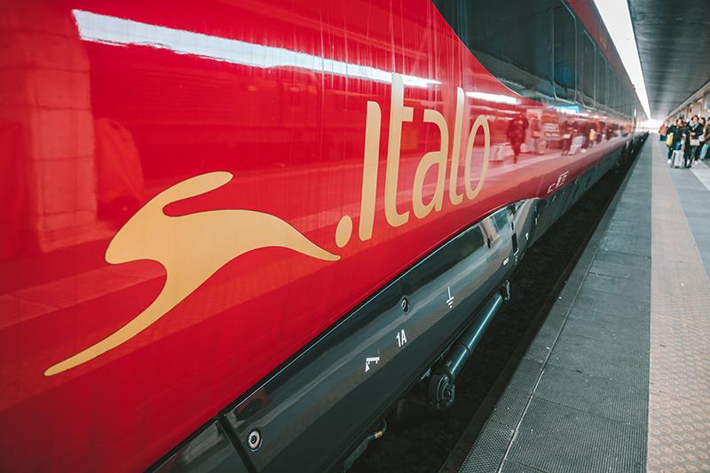 Как купить билет на поезд на сайте Italo