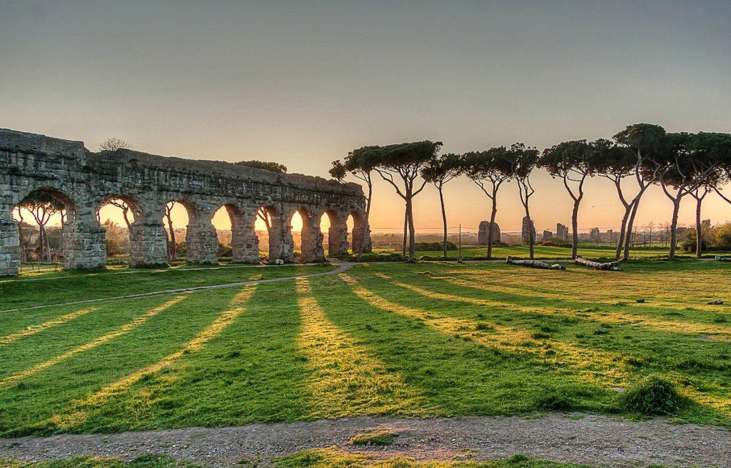 Парк акведуков Рим