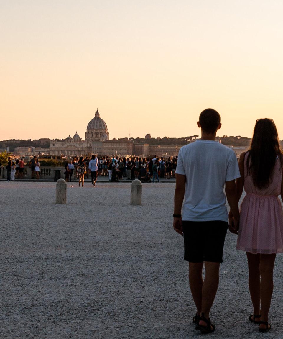 Романтический квест в Риме