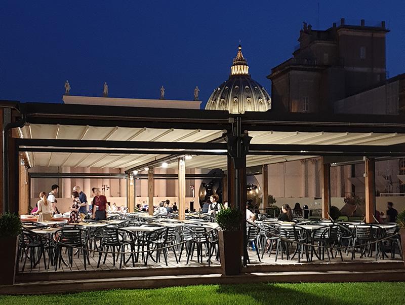 аперитив в музеях ватикана