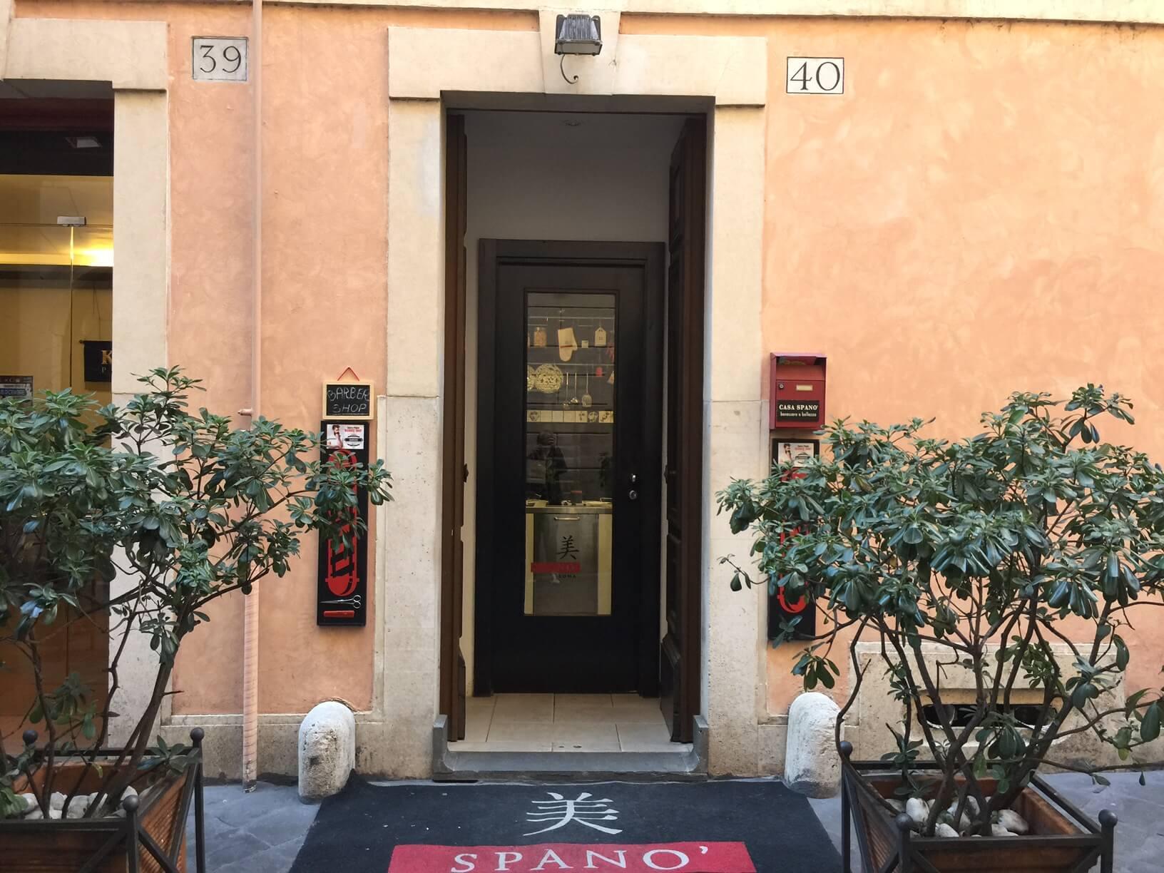 Салон красоты известного стилиста Michele Spanò