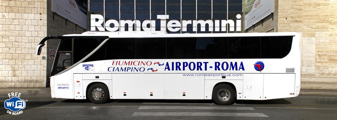 Автобус Фьюмичино Термини