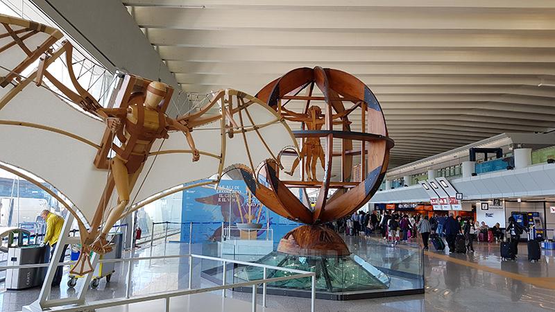 Аэропорт Фьюмичино имени Леонардо да Винчи