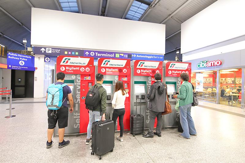 Где можно купить билет на поезд Леонардо Экспресс