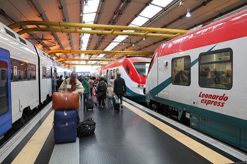 поезд Леонардо Экспресс Аэропорт Фьюмичино: как добраться в Рим