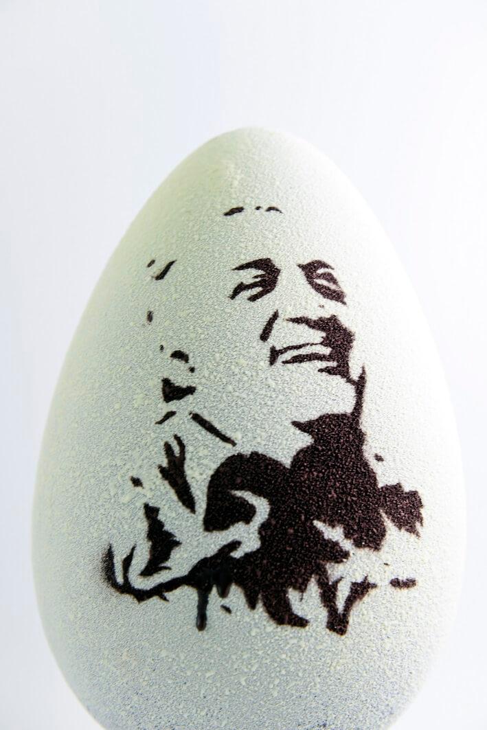 Uovo Federico Fellini Pasticceria Bompiani