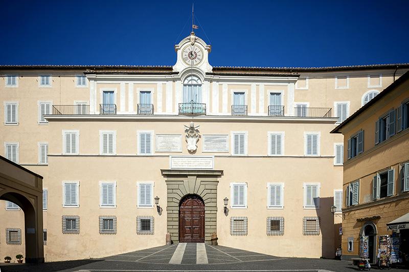 Апостольский дворец в Кастель Гандольфо