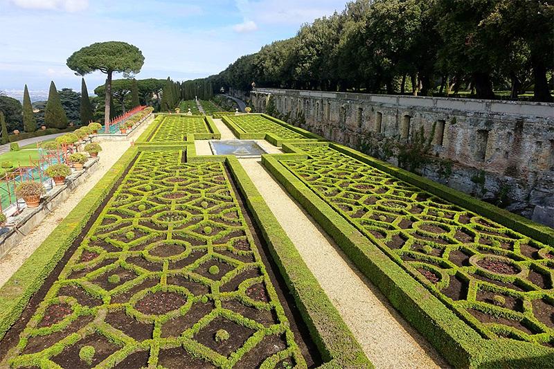 Сады виллы Барберини
