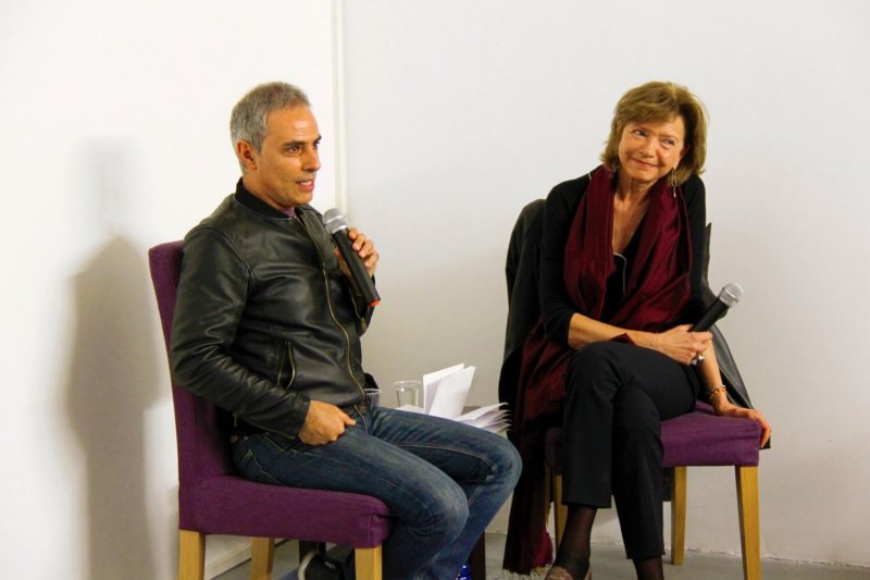 Francesco Jodice e Adriana Polveroni